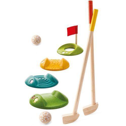 Plan Toys Drewniany mini golf - duży zestaw (8854740056832)