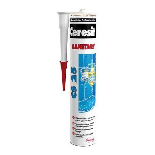 Silikon sanitarny cs 25 pergamon 39 280 ml marki Ceresit