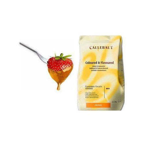 Callebaut Czekolada pomarańczowa do fondue oraz fontann   2,5 kg