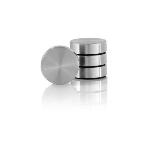 Zestaw 4 magnesów z podładką - - muro - 2 cm marki Blomus