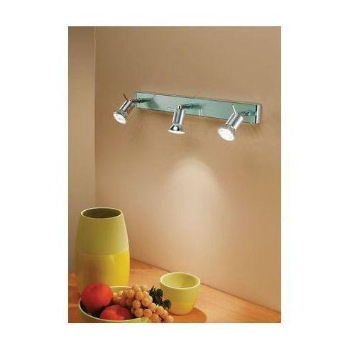 listwa SPOTTY aluminium 3 x 40W ŻARÓWKI LED GRATIS!, LINEA LIGHT 1153