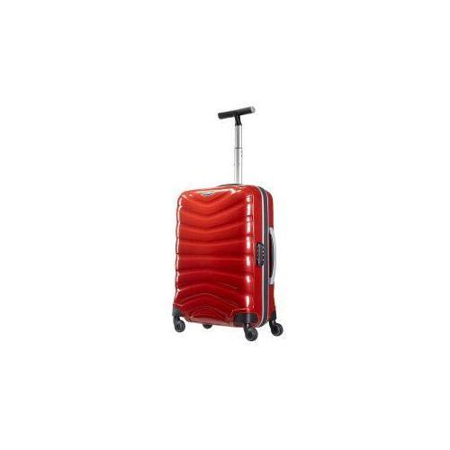 Samsonite  walizka mała/ kabinowa z kolekcji firelite 4 koła zamek szyfrowy z systemem tsa wykonane z materiału w opatentowanej technologii curv