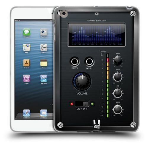 Etui silikonowe na tablet - Amp Box BLUE EQUALIZER