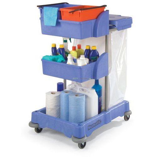 xc 3 - wózki do sprzątania marki Numatic