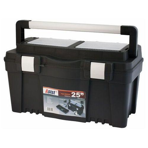 """Asist ARN25AA walizka na narzędzia ALU 25"""", 60 x 28,6 x 32,7 cm, 689618"""