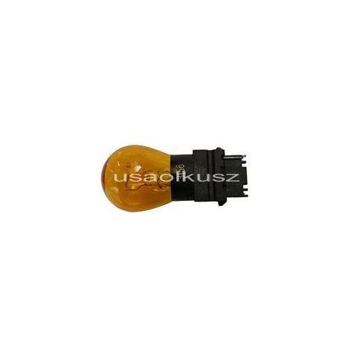 Żarówka pomarańczowa jednowłóknowa 3156na p27w amber w2,5x16d marki Rozni