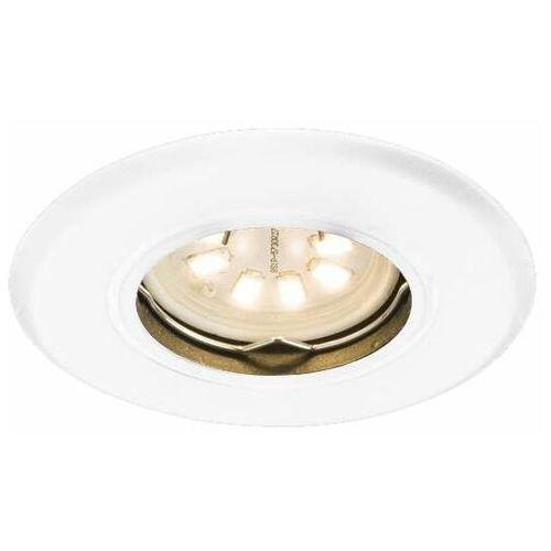 Shilo Podtynkowa lampa sufitowa tokio 7382 metalowa oprawa regulowana oczko okrągłe emilio białe (5903689973823)