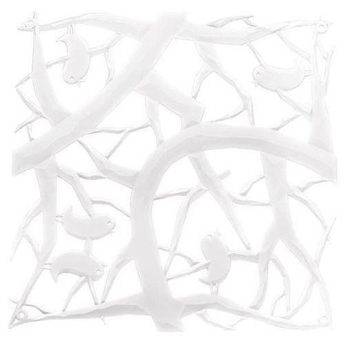 Panel dekoracyjny pi:p - 4 sztuki w komplecie - kolor biały, marki Koziol
