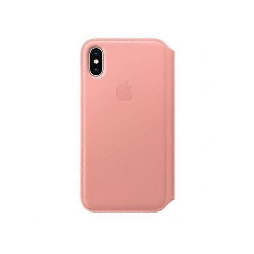 Apple iphone x leather folio - soft pink mrgf2zm/a >> bogata oferta - super promocje - darmowy transport od 99 zł sprawdź!