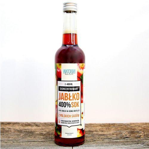 400% skoncentrowany sok jabłkowy 400 ml marki Natjun