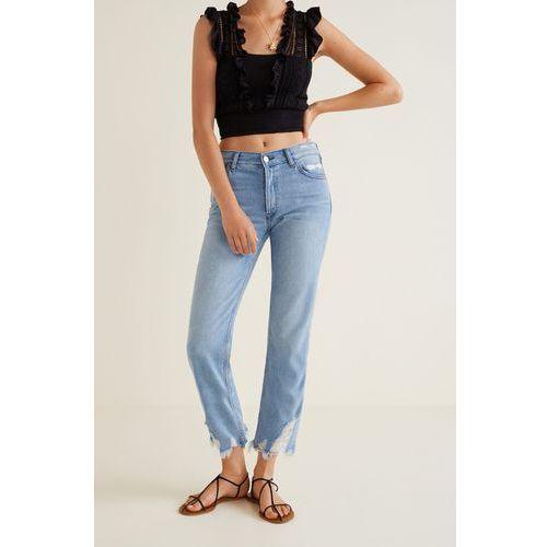 - jeansy sayana marki Mango