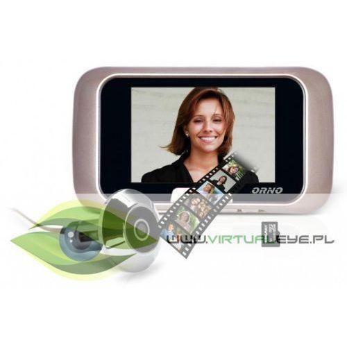 Wideo-wizjer do drzwi or-wiz-1101 marki Orno