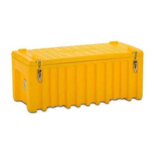 Pojemnik uniwersalny z polietylenu,poj. 250 l, nośność 200 kg