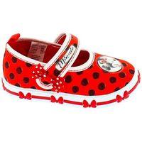 Disney by arnetta buty dziewczęce minnie 24 czerwony (8034043573834)