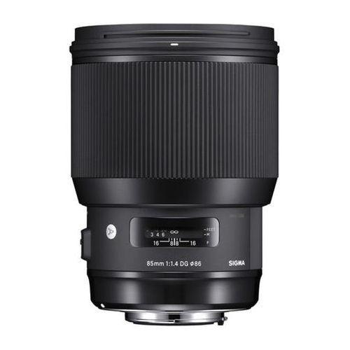 Sigma  a 85mm f/1.4 dg hsm canon - produkt w magazynie - szybka wysyłka!
