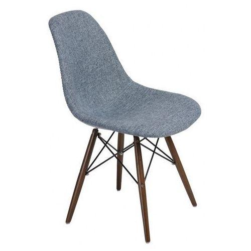 Krzesło p016w duo inspirowane dsw dark - niebieski ||szary marki Producent: elior