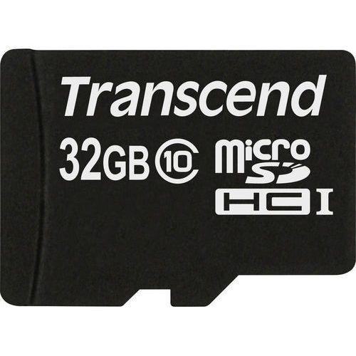 Karta pamięci microSDHC Transcend TS32GUSDC10, 32 GB, Class 10, 20 MB/s / 10 MB/s