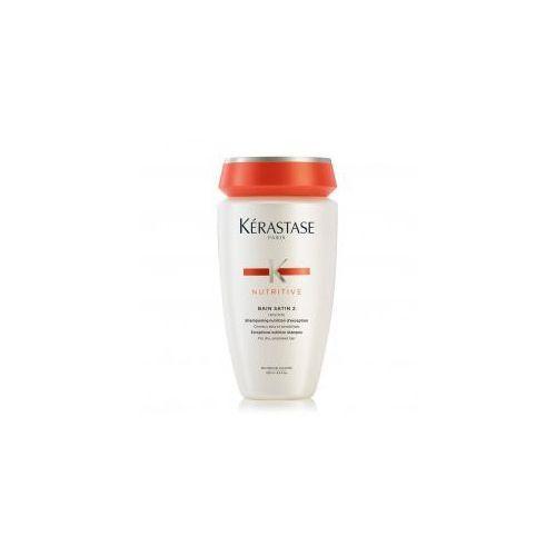 Kerastase Nutritive Irisome Bain Satin 2, kąpiel odżywcza, włosy suche i uwrażliwione, 250ml