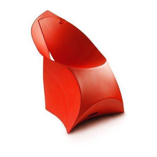 Krzesło czerwone marki Flux