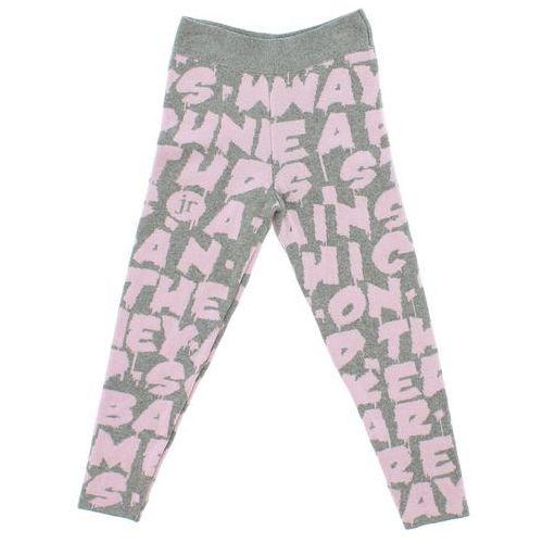 John richmond  spodnie dresowe dziecięce różowy szary 6 lat