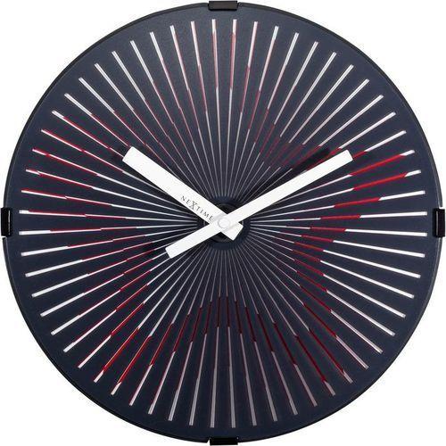 Nextime - zegar ścienny motion star red