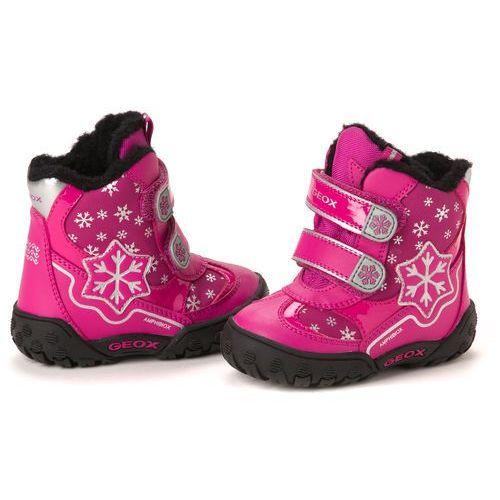 Geox buty za kostkę dziewczęce 26 różowy z kategorii Pozostałe obuwie dziecięce