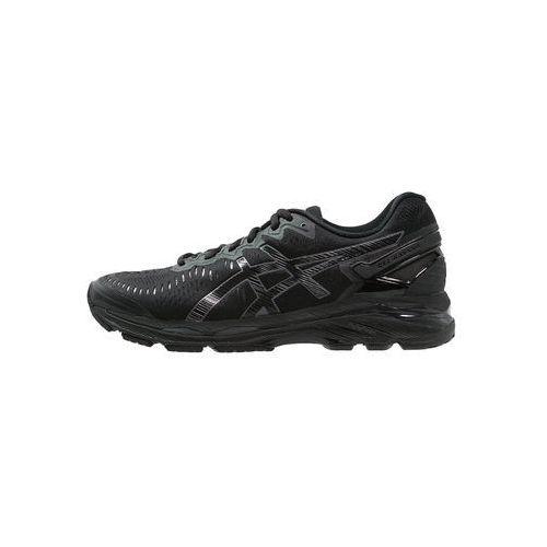 gel-kayano 23 but do biegania mężczyźni czarny buty do biegania antypoślizgowe marki Asics