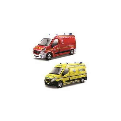 Renault master ambulans straż 1:50 marki Bburago