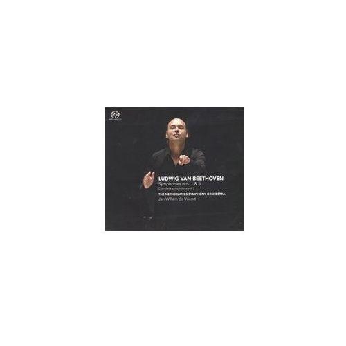 Challenge classics Ludwig van beethoven: symphonies nos. 1 & 5 (complete symphonies vol. 2) [hybrid sacd] (0608917236422)