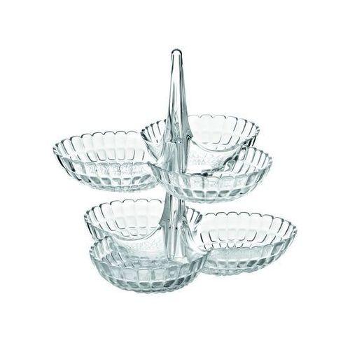 Guzzini - tiffany - kpl 2 potrójnych miseczek na przystawki, biały - biały (8008392277255)