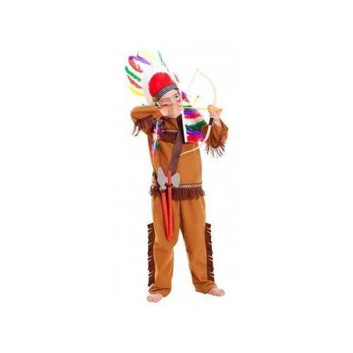 Amscan Kostium indianin, łuk, strzały, tomahawk, oszczep