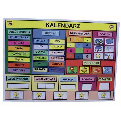 Bystra sowa Magnetyczny kalendarz edukacyjny
