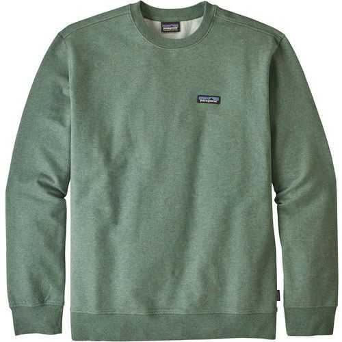 Patagonia label crew bluza green (0190696508598)