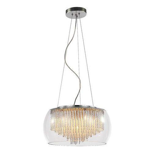 Lampa wisząca zwis oprawa Rabalux Mona 5X40W G9 chrom 2917 (5998250329178)