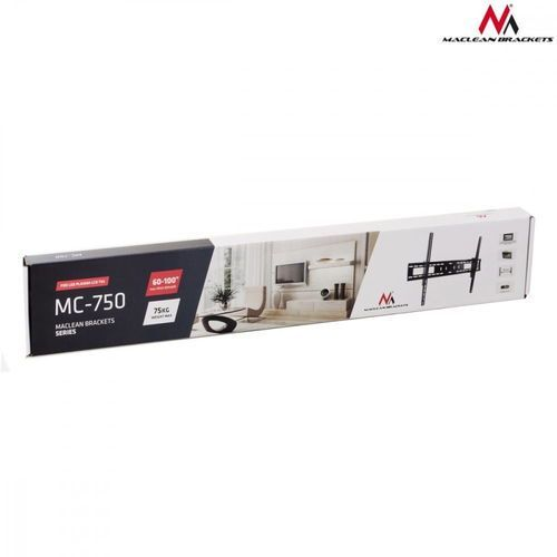 """uchwyt do telewizora lub monitora 60-100"""" mc-750 czarny max vesa 600x900 70kg marki Maclean"""