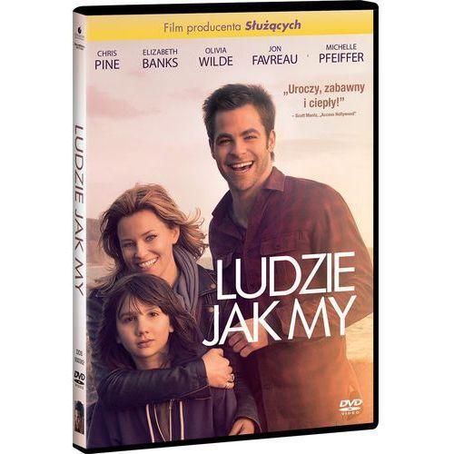 LUDZIE JAK MY (DVD) - Wykorzystaj kod rabatowy ij5o836q - kupuj jeszcze taniej!