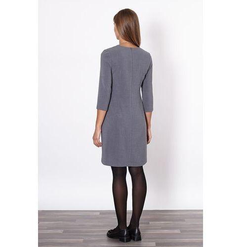 Click fashion Sukienka Model Murcja 20208 Grey, szara