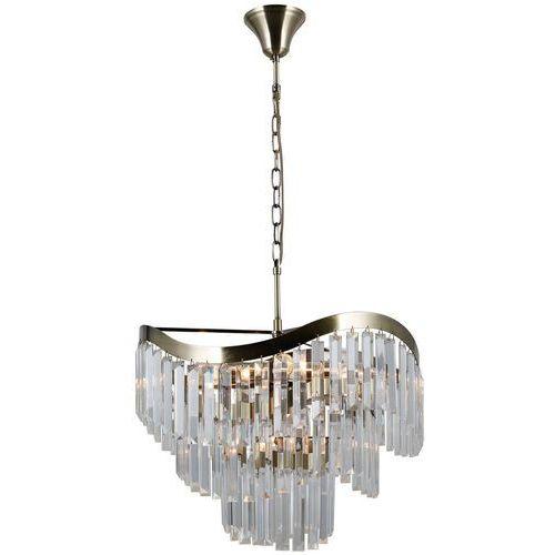 Italux sabriga pnd-44544-8 lampa wisząca zwis 8x40w e14 brąz antyczny