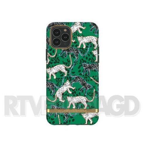 Richmond & Finch Green Leopard - Gold Details iPhone 11 Pro Max, IP265-408