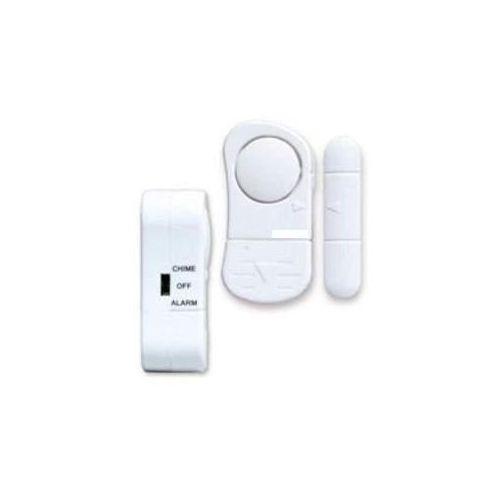 Alarm Bezprzewodowy Punktowy, Okienno-Drzwiowy (MOC 110dB!!) + Sygnalizator Wejścia.