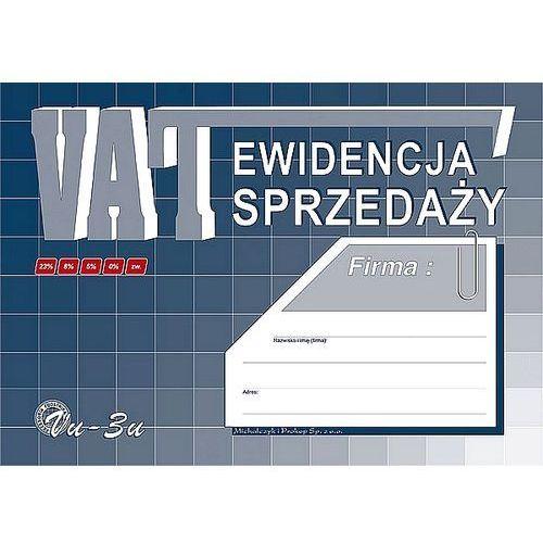 Ewidencja sprzedaży VAT A4 Vu-3u, Michalczyk i Prokop