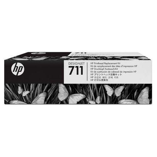 HP oryginalny Zestaw do wymiany głowicy C1Q10A, CMYK, HP DesignJet T120,T520, w zestawie wkłady atramentowe