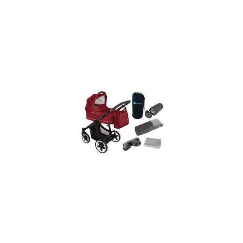 Wózek wielofunkcyjny Lupo Comfort + Winterpack Baby Design (dark red)