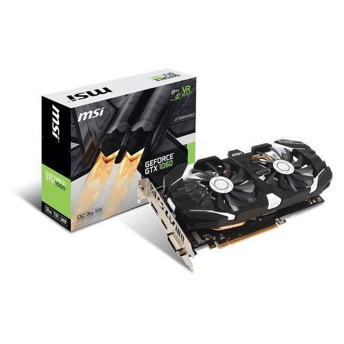 MSI GeForce GTX 1060 OC 3GB 192BIT DVI/HDMI/3DP/EP6 (0824142134894)