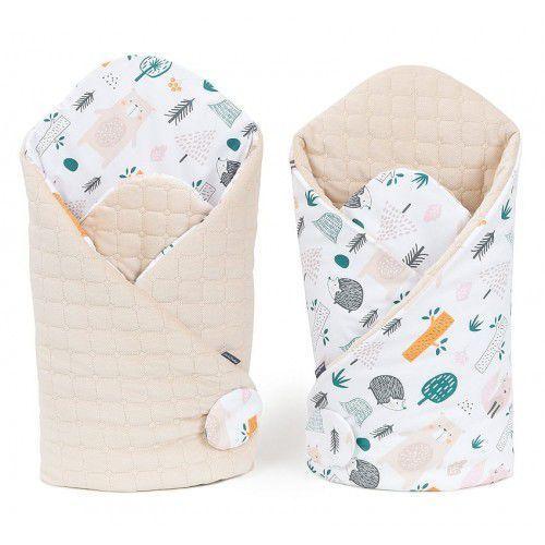 Mamo-tato Rożek niemowlęcy dwustronny velvet lux - forest