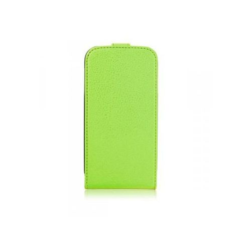 Xqisit Flipcover for Galaxy S4 green, kolor zielony
