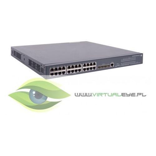 Hewlett packard enterprise 5120 24g poe+(370w) switch jg091b - limited lifetime warranty
