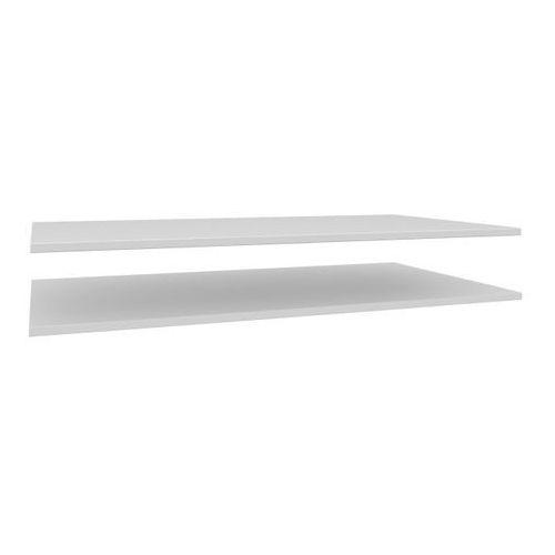 Półki Form Darwin 1,8 x 96,2 x 55 cm białe 2 szt. (3454975892196)