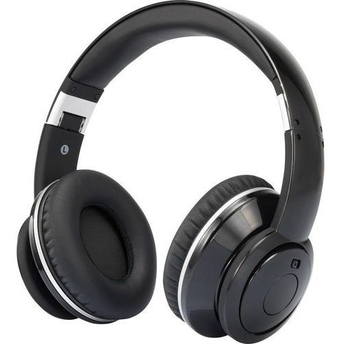 Słuchawki z redukcją szumów Renkforce 7000636, 20 - 20 000 Hz, czarny