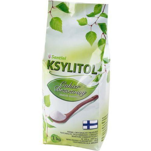 SANTINI Ksylitol Cukier krystaliczny Torebka 1 kg, 5908234462166